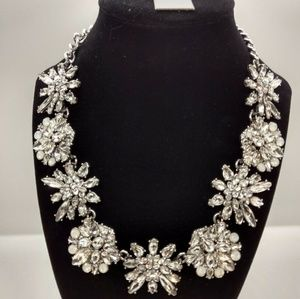 Baublebar Rhinestone Crystal Statement Necklace